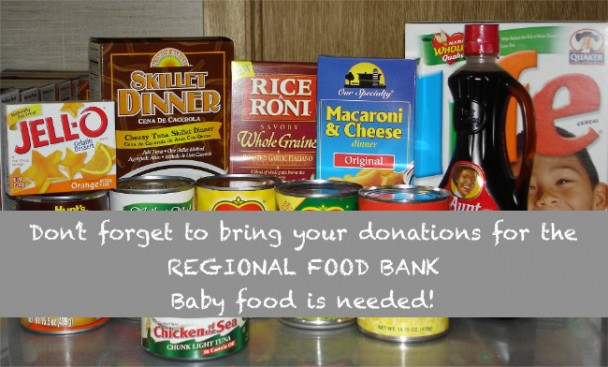 Supporting the REGIONAL FOOD BANK